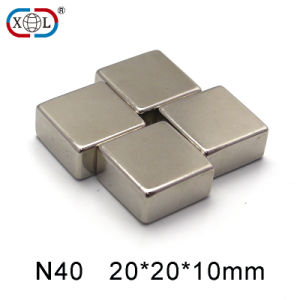 Nickel Square Permanent Magnet Neodymium pictures & photos