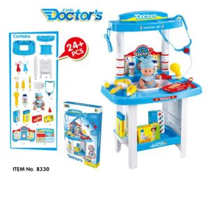 14358330-Bowa Kids Early Education Toys Medical Set Doctors Set Nurses Outfit Children Play House Plastic Toys for Kids Girls pictures & photos