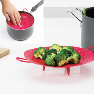 Kitchen Sleekstor Veggisteam Silicone Steamer pictures & photos