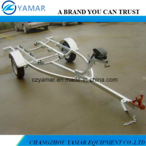 Hot Dipped Galvanized Boat Trailer with Roller pictures & photos