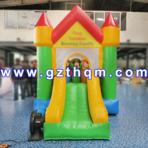 Giant Rainbow Slide PVC Customized/Jungle Theme Slide with Stopper pictures & photos