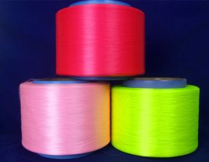 Glow in Dark Sewing Yarn with Red, Yellow, Blue, Green, Orange Color pictures & photos