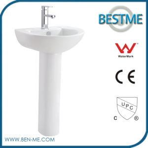 Ceramic Wash Sink Pedestal Wash Basin pictures & photos