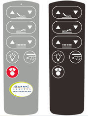 Multi Keys Flexible Membrane Touch Switch Overlay Graphic with 3m Adhesive pictures & photos