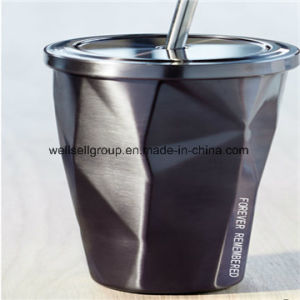 450ml Stainless Steel Car Travel Mug with Straw Lid pictures & photos