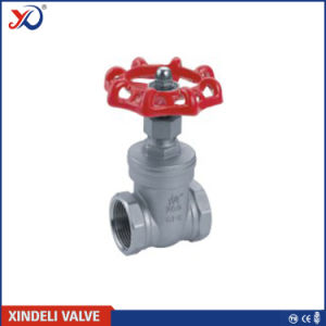 Threaded Stainless Steel Gate Valve in 200wog with Ce Certificate pictures & photos