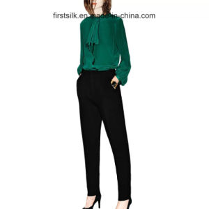 Sandwashed Silk Shirts Lady New Fashion pictures & photos