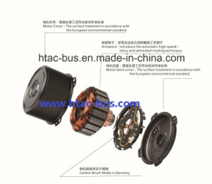 Copy Spal 009 A40 Vll22 Evaporator Cooling Fan China Supplier Htac-Bus pictures & photos