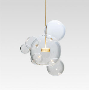 Clear Glass Creative Pendant Lamp Unique Modern Lighting pictures & photos