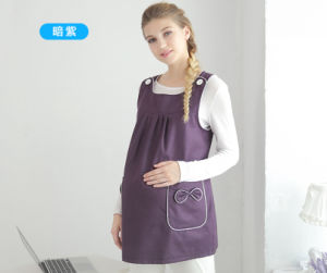 Color Logo Customize Maternity Dresses with Anti-Radiation pictures & photos