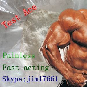Test Testosterone Acetate Ace Almost White Powder for Beginner Bodybuilders pictures & photos