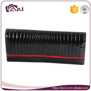Fani High Quality Delicate Crocodile Wallet, Women Money Bag, Purse Wallet Genuine Leather pictures & photos