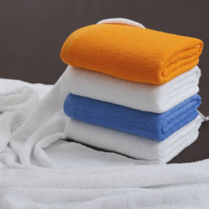 China Supplier Economy Custom Cotton Colorful Bath Towel pictures & photos