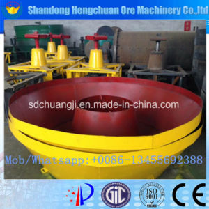 Quality Guarantee Gold Grinding Machine Wet Pan Mill pictures & photos