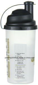 700ml BPA Free Plastic Vortex Shake Bottle, Portable Plastic Protein Shaker pictures & photos