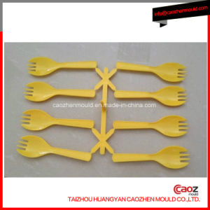 Plastic Injection Disposable Dinnerware/ Fork Mould pictures & photos