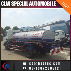 Good Price 5mt Septic Tanker Truck Fecal Vehicle Tanker pictures & photos
