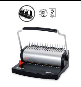 China manufacturer A4 Size Plastic Comb Binding Machine with U handle U2105 pictures & photos