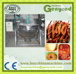 Industrial Use Vertical Steam Jacketed Kettle pictures & photos