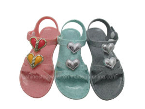 Stone Pattern PVC Girls sandals