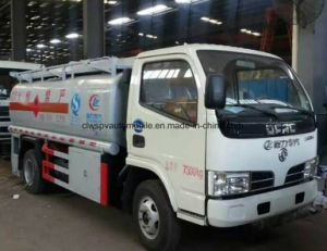 5500 Litre Fuel Tanker Truck 5kl Oil Refueling Dispenser Truck for Sale pictures & photos