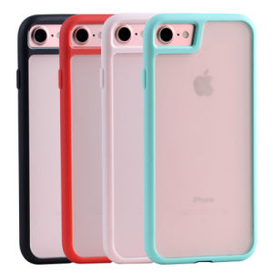 Frosted TPU+PC Clear Phone Case for iPhone7/7plus pictures & photos