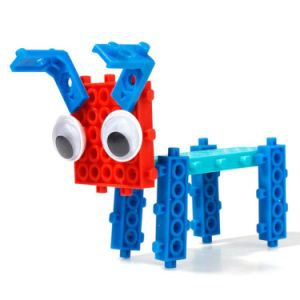 14885508-4 in 1 Animal Changed Block Kit Educational DIY Creative Toy Blocks Set 32PCS (Frog- Elephant- Ostrich- Dog) pictures & photos