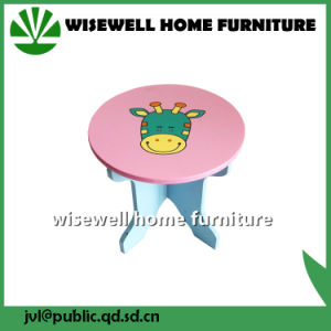 Wood Preschool Furniture Cartoon Children Chair (W-G-1065) pictures & photos