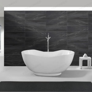 Italian Design Popular Solid Surface Freestanding Fancy Bathtub pictures & photos