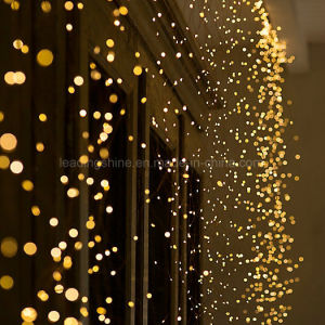 LED Dew Drop Water Falls Christmas Fairy String Light Lights for Home Decorations pictures & photos