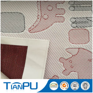 Antistatic Fireproof Knitted Mattress Ticking Fabric pictures & photos