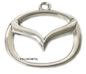 Custom Keychain with Car Logo, Zinc Alloy