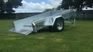 6X4 7X4 7X5 8X4 8X5 10X5 12X5 Hot Dipped Galvanised Utility Car Trailer with Tilt pictures & photos