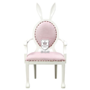 Lovely Pink Bunny Chair with Arms pictures & photos