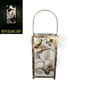 Popular Solar Powered Garden Decoration Metal Butterfly Lantern pictures & photos