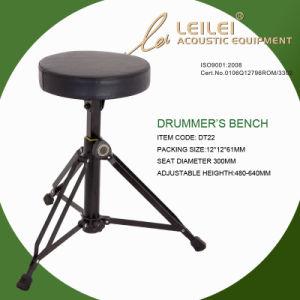 Adjustable Linen Seat Drummer′s Bench (DT22) pictures & photos
