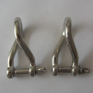 Stainless Steel Forged Flat Dee Shackle pictures & photos