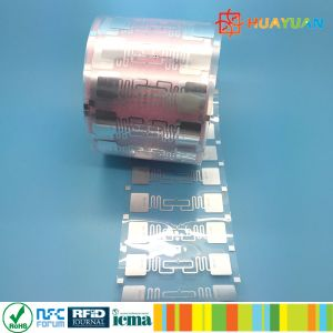 860-960MHz RFID HY-9662 H3 Paper Label UHF Dry Inlay pictures & photos