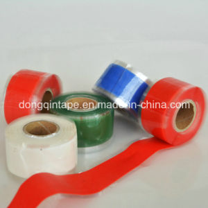 Wholesale Self-Fusing Silicone Rubber Tape with Spec 0.5mm*25mm*3m for Repair pictures & photos