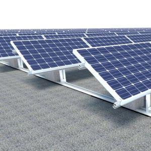 New Design Concrete Flat Roof Solar Brackets pictures & photos