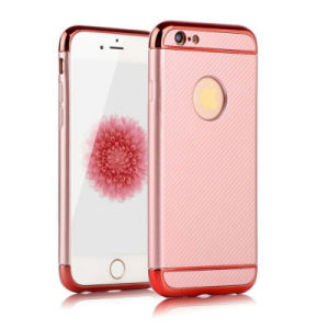 Electroplate TPU 3 in 1 Mobile Phone Case for iPhone 7g 7plus J7 J5 2017 C7PRO S8 S8plus Hard TPU Phone Case (XS-QW01)