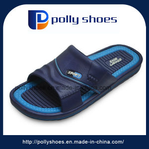 Cheap Wholesale EVA Men Slip on Slippers From China pictures & photos