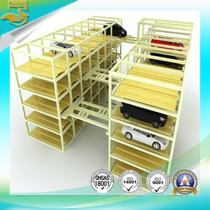 Auto Horizontal Shifting Parking Lift pictures & photos