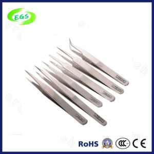 Stainless Steel ESD Anti-Static Vetus Tweezers Made in Shenzhen pictures & photos