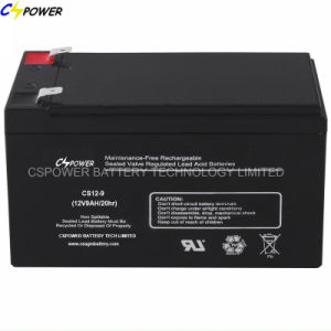 Cspower 12V 7ah Sealed Lead Acid Rechargeable Battery pictures & photos