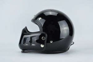 Half Face Helmet with Under Part pictures & photos