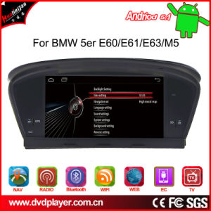 Android Car GPS for BMW 5er E60 E61 GPS Navigation pictures & photos