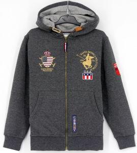2017 Children Boys Cotton Fleece Sweatshirt Embroidery Hoodies Top Clothing pictures & photos