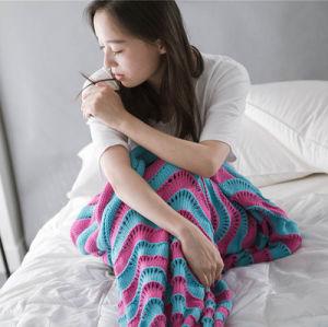 Acrylic Mermaid Blanket, Mermaid Tail Blanket Blanket Mermaid pictures & photos