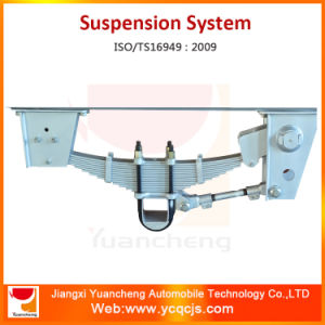 Leaf Spring Suspension and Axels for 14t Dump Trailer pictures & photos